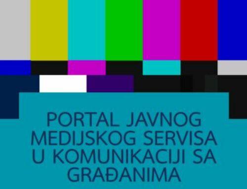 Portal Јavnog medijskog servisa u komunikaciji sa građanima