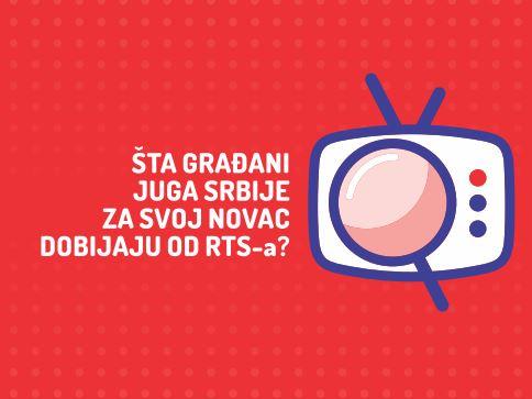 Šta građani juga Srbije za svoj novac dobijaju od RTS-a?